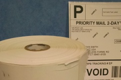 4 inch by 6 inch labels (neoShip Labels)  $24.00 per roll