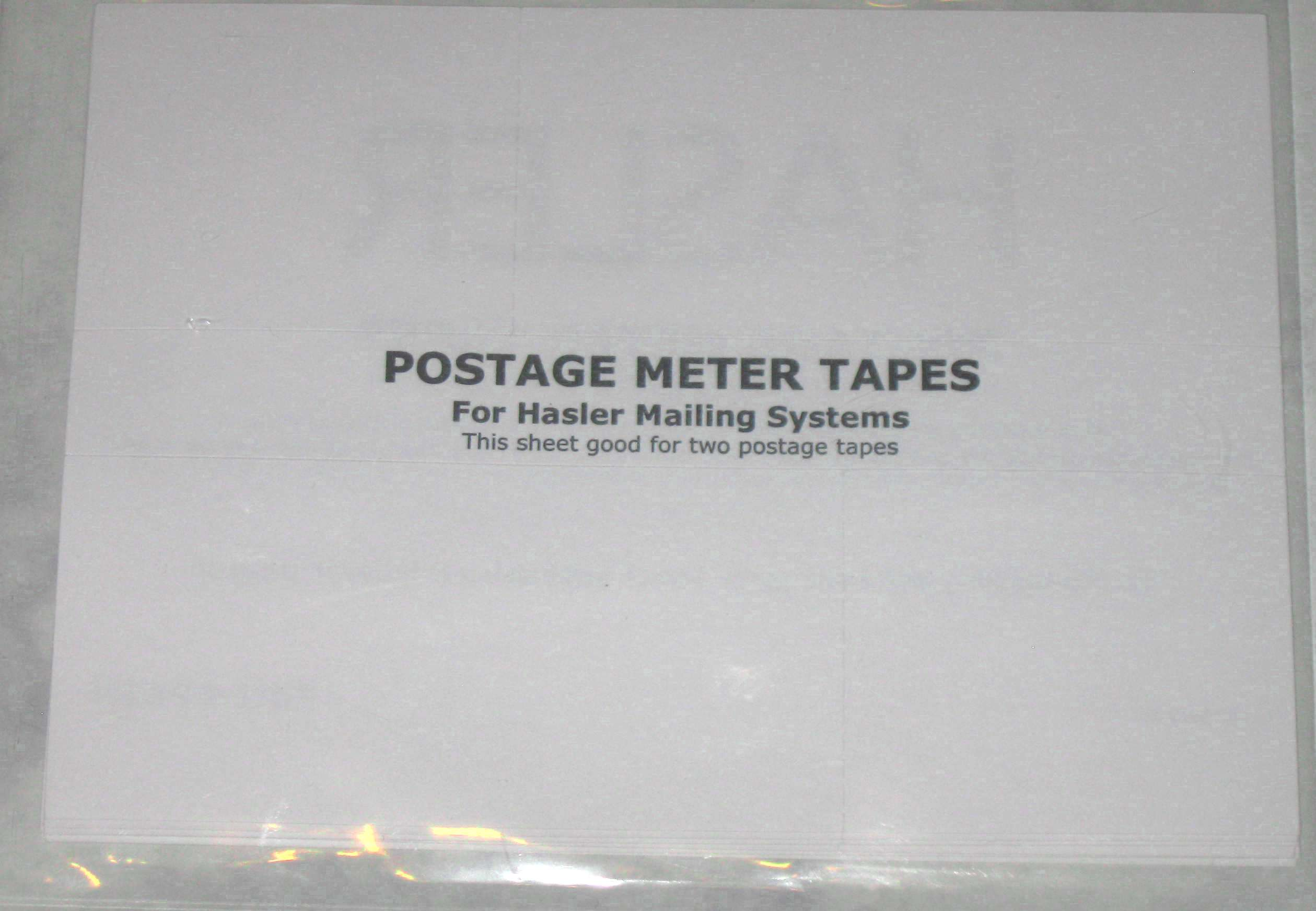 Postage Meter Tapes $17.00 for 150 labels